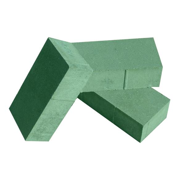 Кирпич 6 зеленый