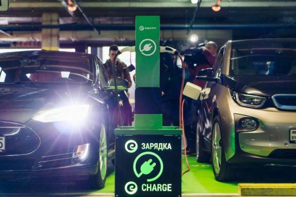 заправочные станции для электромобилей