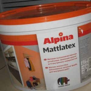 Alpina (Caparol) Mattlatex